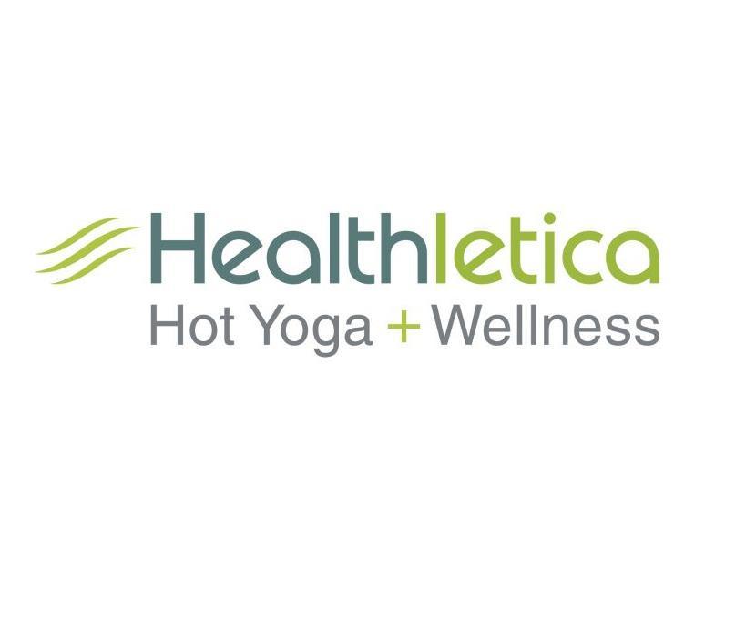 Healthletica Hot Yoga + Wellness logo