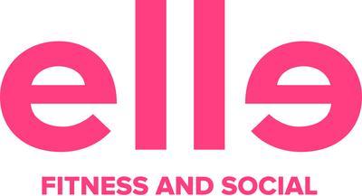 Elle Fitness and Social logo