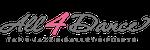 ALL 4 DANCE logo
